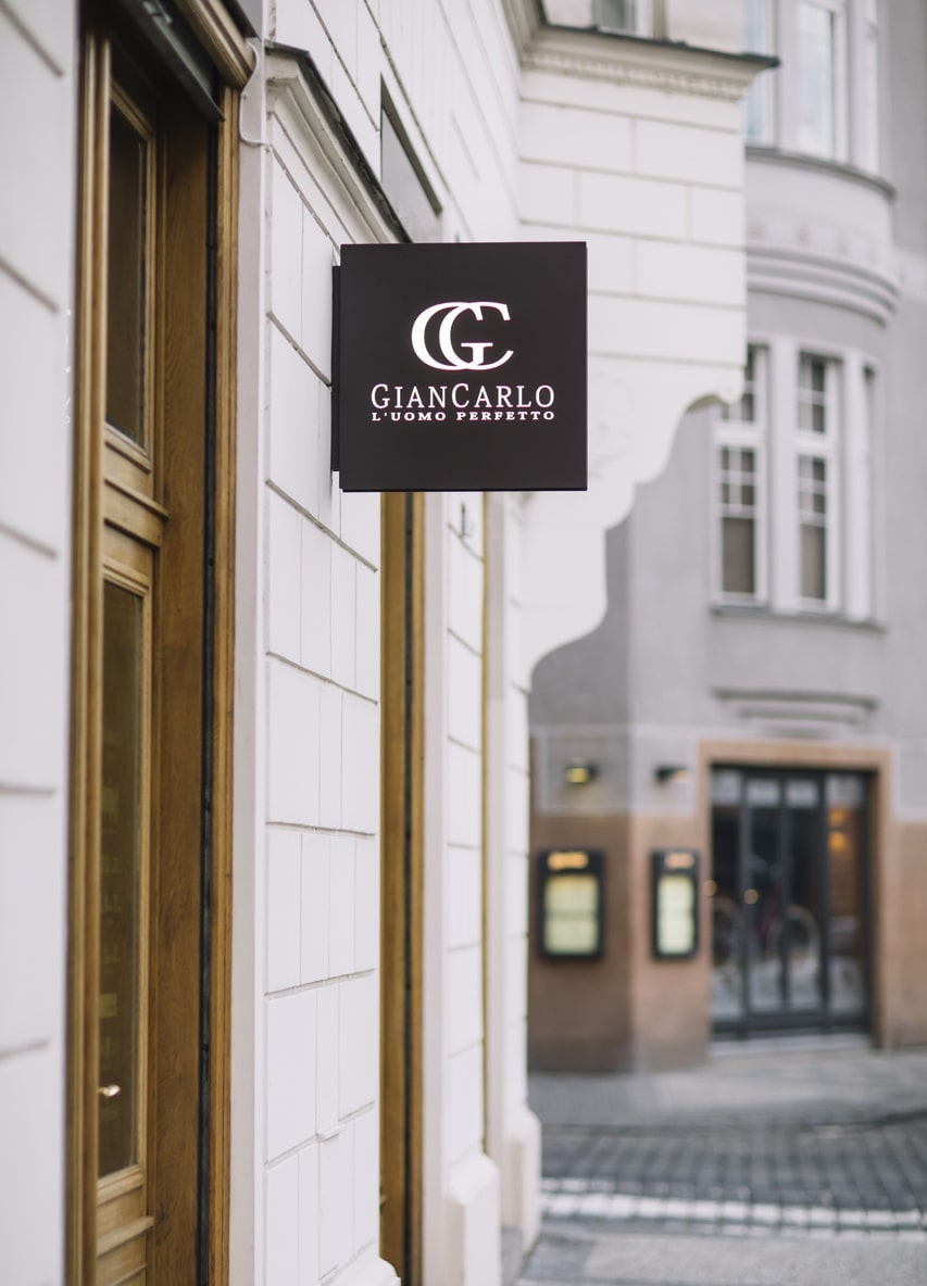 Obchod Giancarlo v ulici Široká